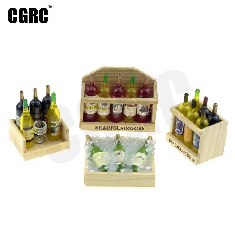 1/10 Scene Decoration Miniature Wine Box For 1/10 RC Crawler Car Traxxas TRX4 Ford Bronco D90 D110 Axial Scx10 90046 RC4WD CC01 1/10 Scene Decoration Miniature Wine Box For 1/10 RC Crawler Car Traxxas TRX4 Ford Bronco D90 D110 Axial Scx10 90046 RC4WD CC01