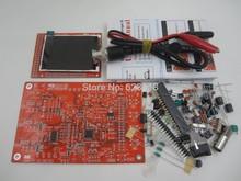 Бесплатная Доставка 1 Sets Высокое Качество DSO138 Цифровой Осциллограф DIY Kit + Зонд Распаян Поток Семинар STM32 200 кГц DIS0138