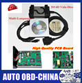 Excellent Green PCB Board Newest 2014D Full Chip Auto Diagnostic Tool For VO--LV--O Vida Dice For VO-L-V-O Series Multi-Language