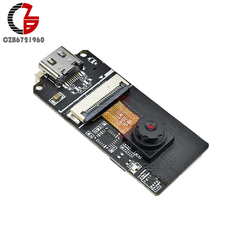 2 MP tipo c ESP32-CAM OV2640 módulo de cámara Sensor ESP32 Placa de desarrollo Wifi Bluetooth transceptor CP2014 USB TTL para Arduino