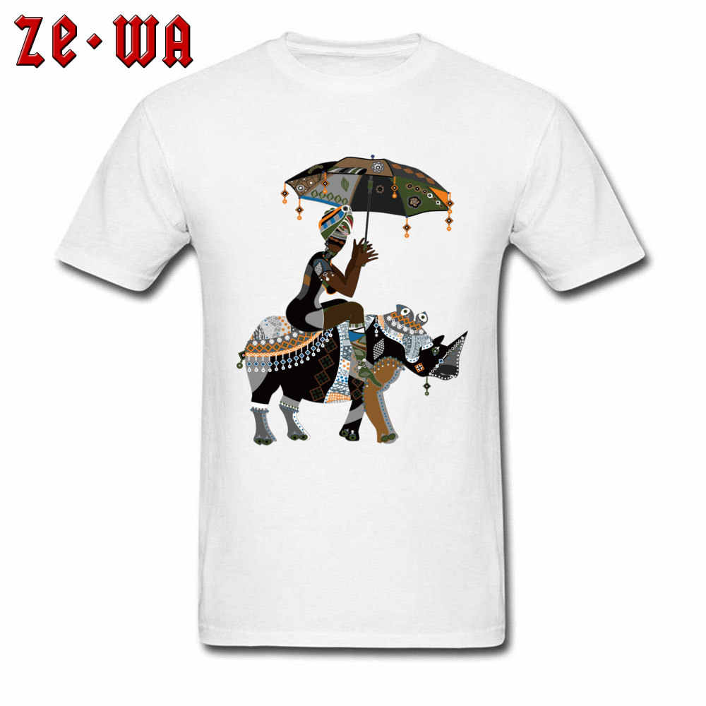 装着し、男性 Tシャツアフリカンアート描画 Tシャツアフリカ人サイプリント Tシャツクルーネック綿 100% 服ホワイトユニークな