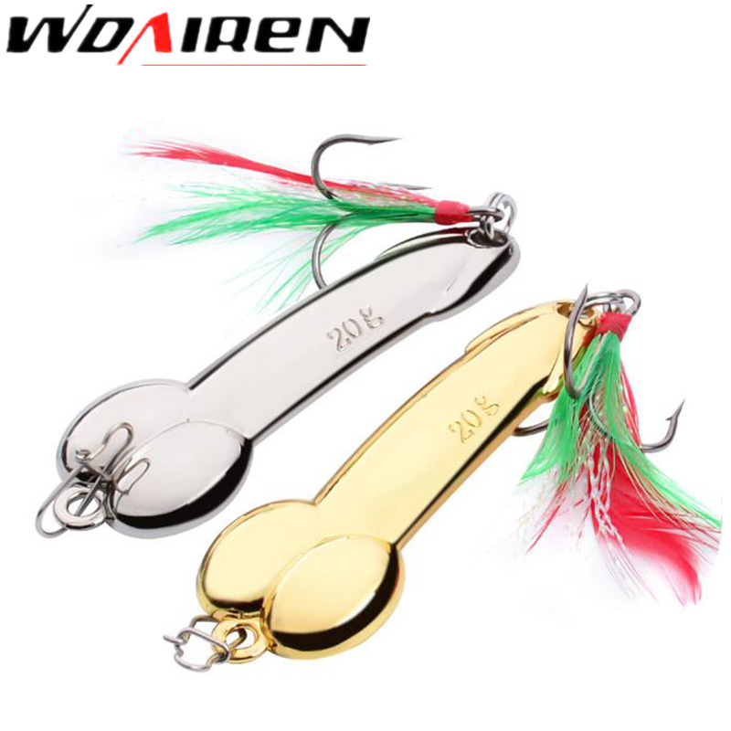WDAIREN Metal Spinner DD Spoon Bait Fishing Lure iscas artificias Hard Baits Silver Gold Bass Pike Fishing Tackle free shipping