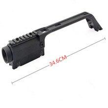 3,5X20 Крестовая охотничья база с ручкой прицел G36 для MP5 металлический прицел Вивер рейка крепление