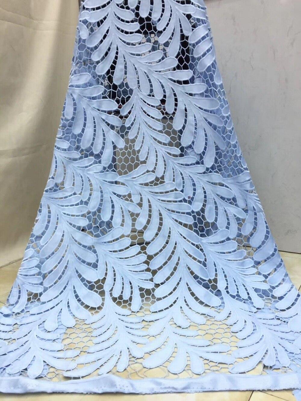 Nigeriaanse franse netto Kant CiCi 12.2301 Geborduurd Koord Kant Stof met volledige kralen voor bridal dress-in Kant van Huis & Tuin op  Groep 1
