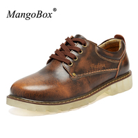 MangoBox 2018 New Trend Casual Shoes For Men Branded Casual Shoes For Men Comfortable Black Brown