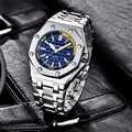 BENYAR Men Watch Top Luxury Brand Military Steel Quartz Watches Mens Waterproof Sport Wristwatches Casual Clock Montre Homme