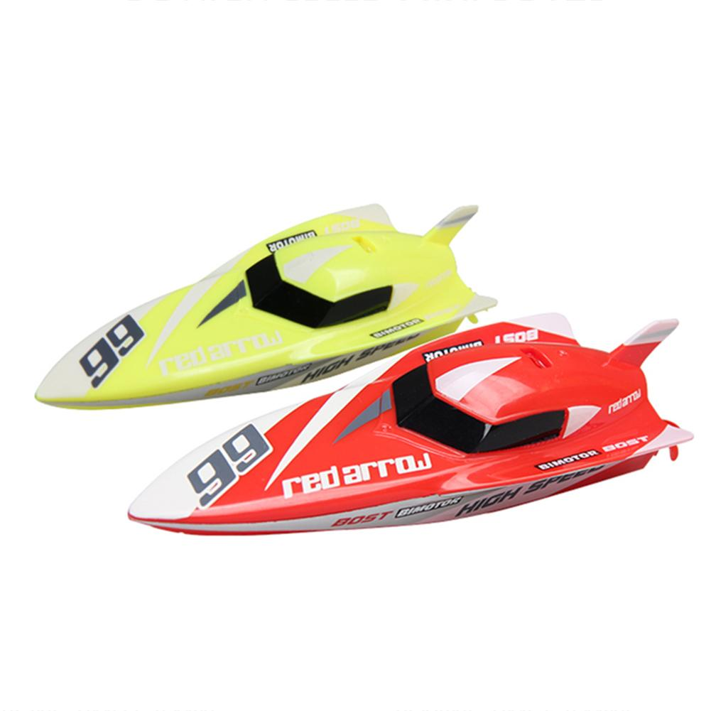 Innovative Children Mini Rechargeable Remote Control Boat Outdoor Water Toy Remote Controlled Racing Boat