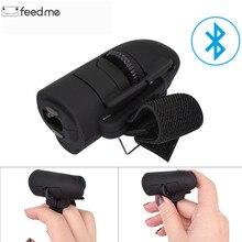 Ratón de dedo Universal Bluetooth inalámbrico dedo anillos ratón óptico 1600Dpi ratón de mano para Notebook portátil de escritorio