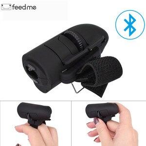 Image 1 - Universal Finger Maus Bluetooth Wireless Finger Ringe Optische Maus 1600Dpi Handheld Mäuse für Notebook Laptop Desktop Tragbare