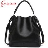 LY SHARK Brand Luxury Handbags Women Bags Designer Crossbody Bags For Women Messenger Bag Genuine Leather