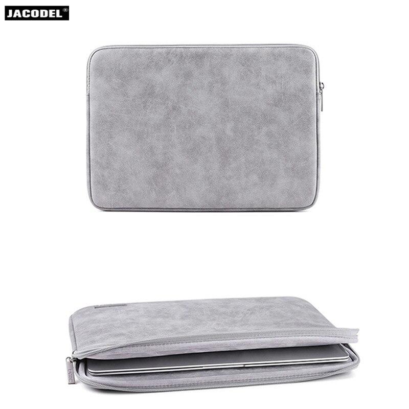 Jacodel PU Laptop Case 14 Inch Notebook Case for Macbook air 13 pro 13 15 Soft Funda Portatil 13.3 Computer Bag for Macbook Case