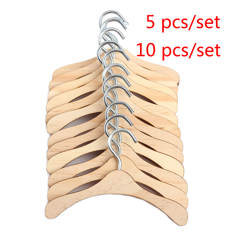 10pcs//lot Doll Clothes Hangers For American Girl For Born Baby 18 Inch Toy Gift