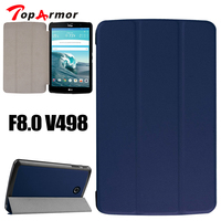 TopArmor Case For LG G PAD 2 8.0 Top Quality Ultra thin PU Leather case, For LG V498 Luxury PU Leather Stand Cover Shell
