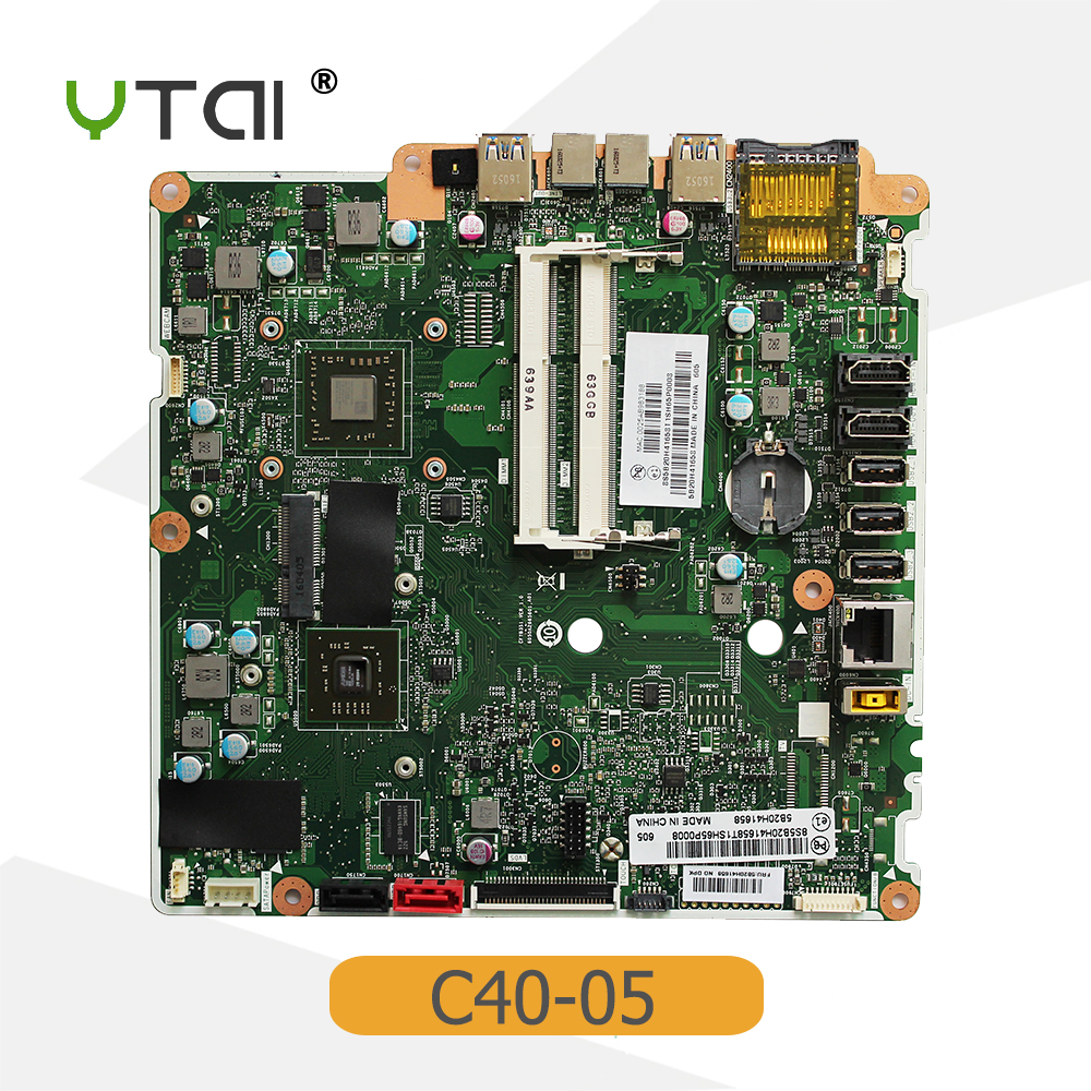 YTAI for Lenovo C40-05 AIO Motherboard A8-6410 cpu FRU:5B20H41658 CFTB3S1 6050A2665601.A01 DDR3 USB3.0 mainboardYTAI for Lenovo C40-05 AIO Motherboard A8-6410 cpu FRU:5B20H41658 CFTB3S1 6050A2665601.A01 DDR3 USB3.0 mainboard