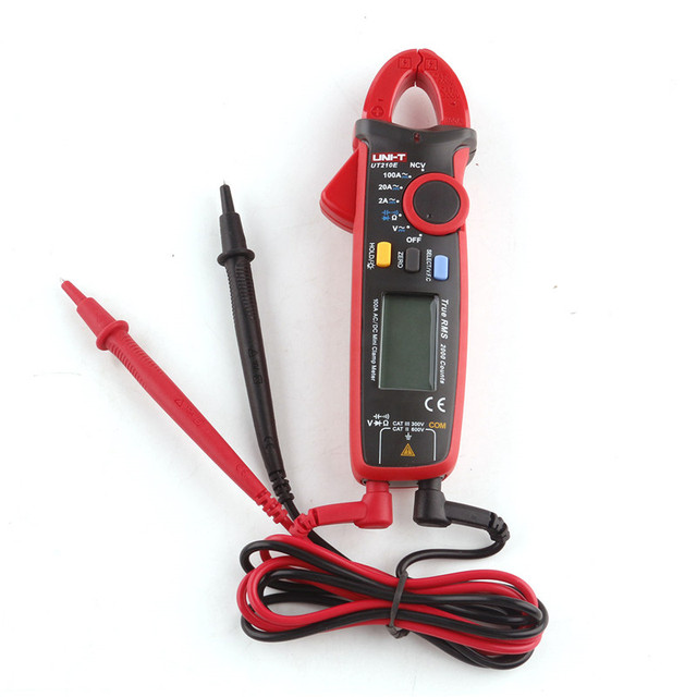 Hot sale UNI-T UT210E mini a multimeter digital multimeter dc voltimetro amperimertro UNI T UT 210E dc clamp multimeter