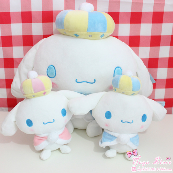 Kawaii Japan Cute Big Ears Cinnamoroll Dog Plush Dolls Soft Toy For Baby Kids Birthday Gifts 20cm 40cm