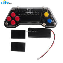 DIYmall Gamepad Expansion Board Joystick for micro:bit kids programming with 2AAA Battery Holder 3M HOOk&LOOP стоимость