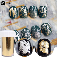 Mtssii 1Roll Gold Silver Nail Art Transfer Foil Decoration Fashion Universe  Decals Nail Tools Cheap Nail 8f37f007c115