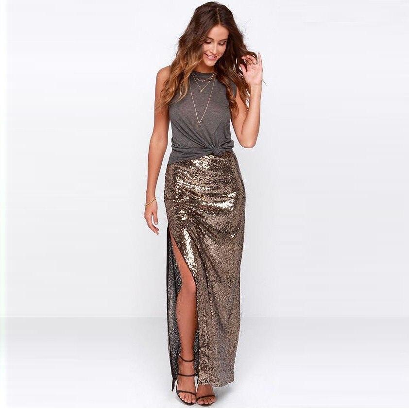 Long Split Skirts - Dress Ala