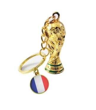 Football fans souvenirs ball game gifts Key buckle World Cup Key chain of the big power cup chain fsactory outle