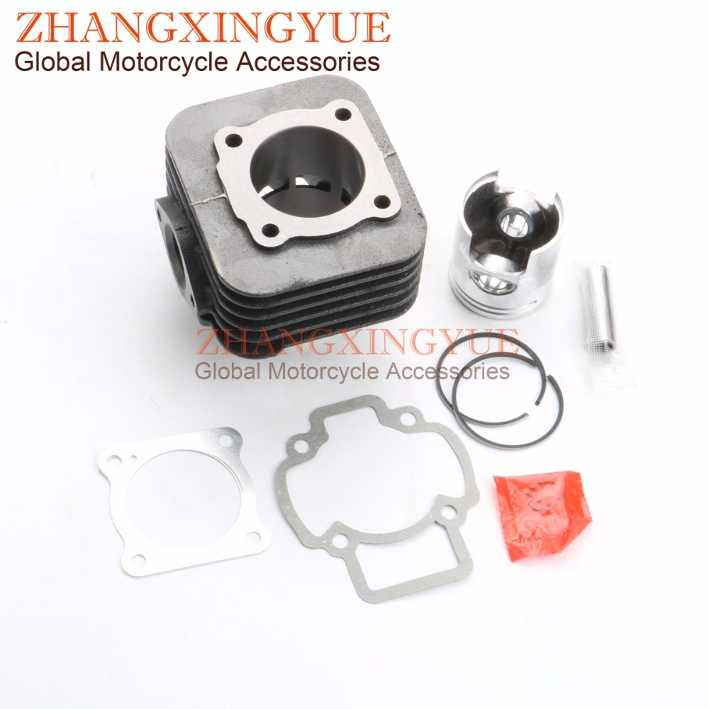 70cc Big Bore Cylinder Barrel Kit for PIAGGIO TYPHOON ZIP 50 AIR 50CC 47mm 12mm