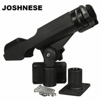 Fishing Support Rod Holder Bracket Kayaking Yacht Fishing Tackle Tool 360 Degrees Rotatable Rod Holder With