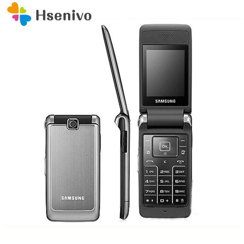 S3600 original desbloqueado samsung s3600 1.3mp câmera gsm 2g teclado russo suporte flip telefone celular frete grátis