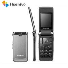 Samsung S3600 Renoviert-Original Entsperrt Samsung S3600 1,3 MP Kamera GSM 2G Russische Tastatur unterstützung Flip Handy