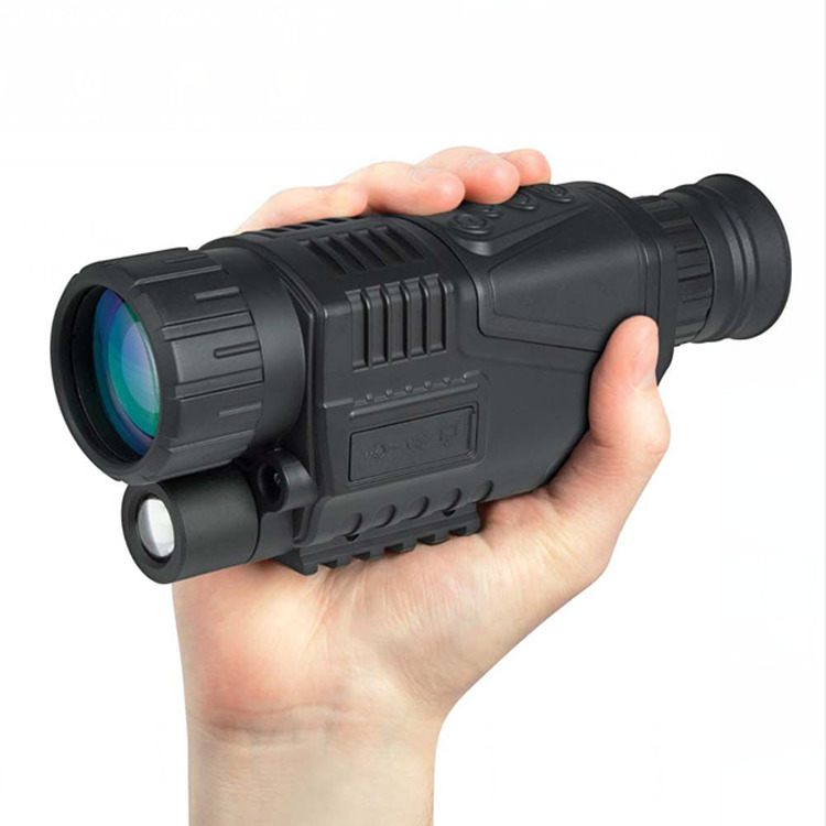 5x40 Hunting 200m Night Vision Telescope With Digital Video Camera Infrared Function For Tactical Optics Monocular Device цена