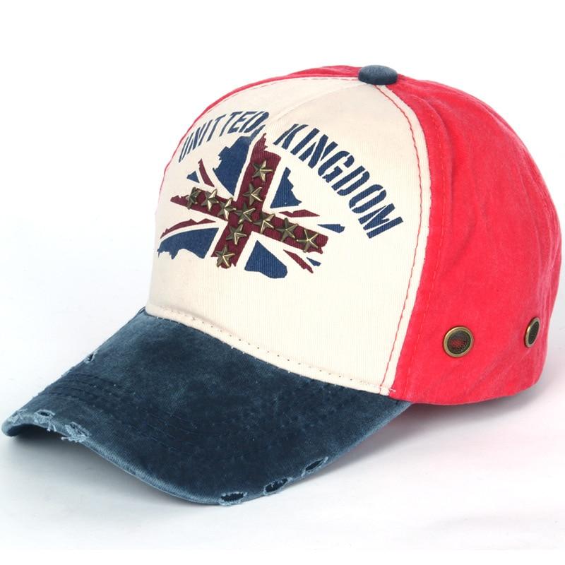 Unisex Denim Embroidery Hat Men Running Sports Cap Breathable Adjustable Tennis Sunhat Women Metal Decoration Peak Hat