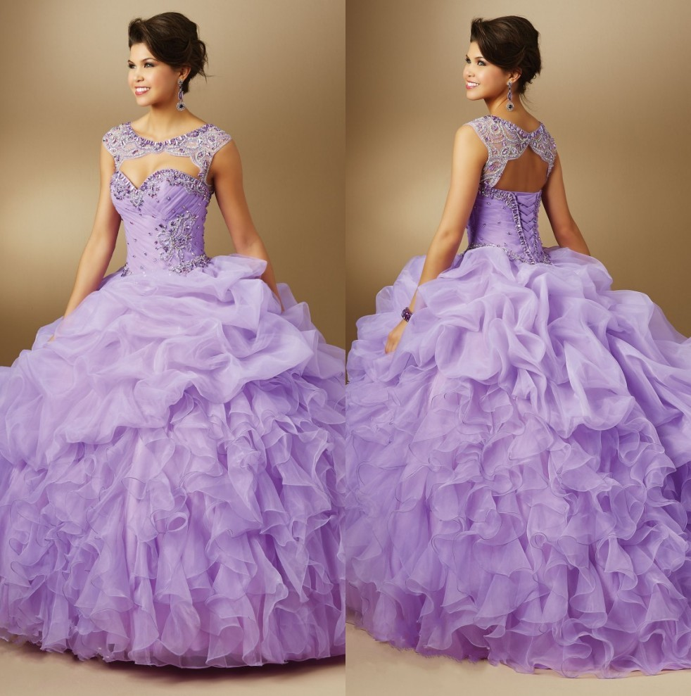 Popular Light Purple Quinceanera Dresses Buy Cheap Light