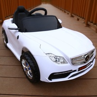 The new Benz children's electric car phone gravity remote control men and women can sit swing four wheel electric car