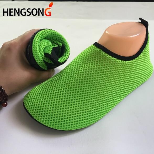 Sneakers Outdoor Aqua-Shoes Men for Stretch-Fabric Beach Summer Sport-Footwear Lightweight