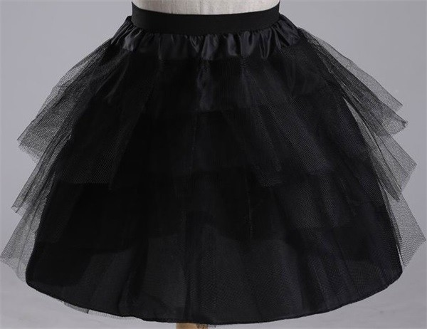 2016-New-Children-Petticoats-3-Layers-Hoopless-Short-Flower-Girl-Dress-Crinoline-for-Wedding-Little-Girls (1)