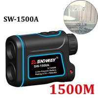 Laser Rangefinder Hunting Monocular Telescope 1500M Astronomic Golf Trena Laser Meter Distance Measure Speed Height Angle