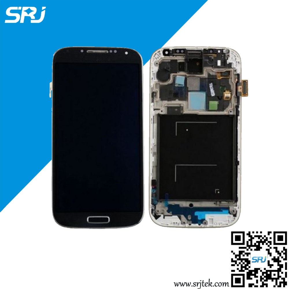 5 For Samsung Galaxy S4 Value Edition GT-I9515 I9515 LCD Display Monitor Touch Screen Digitizer Glass Sensor Assembly+Frame
