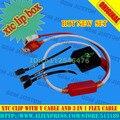 2016 Versão 2 xtc clipe xtc clipe Caixa com 3 Em 1 cabo flex com cabo tipo y para htc rápido livre grátis