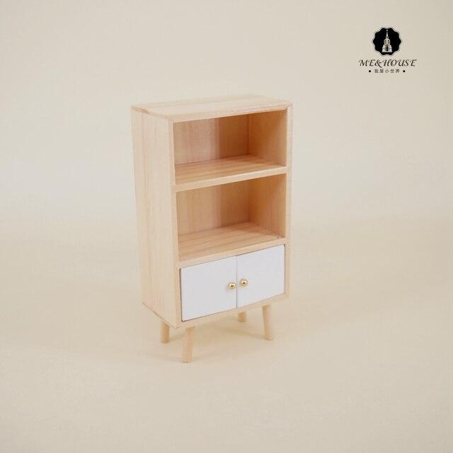 "w//Gold Plated Brackets DOLLHOUSE 1:12 Short Miniature 2/"" Acrylic Display Shelf"