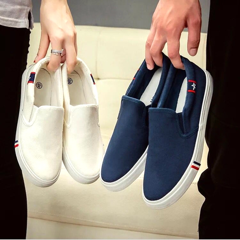 2019 Spring Summer Breathable Mens Casual Shoes Men Loafers Lace-Up Canvas Shoes Unisex Fashion Flats Plus Size Footwear 35-47