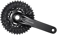 Original Shimano DEORE Bicycle FC M6000 3 Black 10 Speed Bike Chainset Crankset Chain Wheel