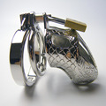 65 MM de largo jaula CB cinturón de castidad masculina dispositivo de castidad de acero inoxidable pene castidad cb6000 castidad de acero