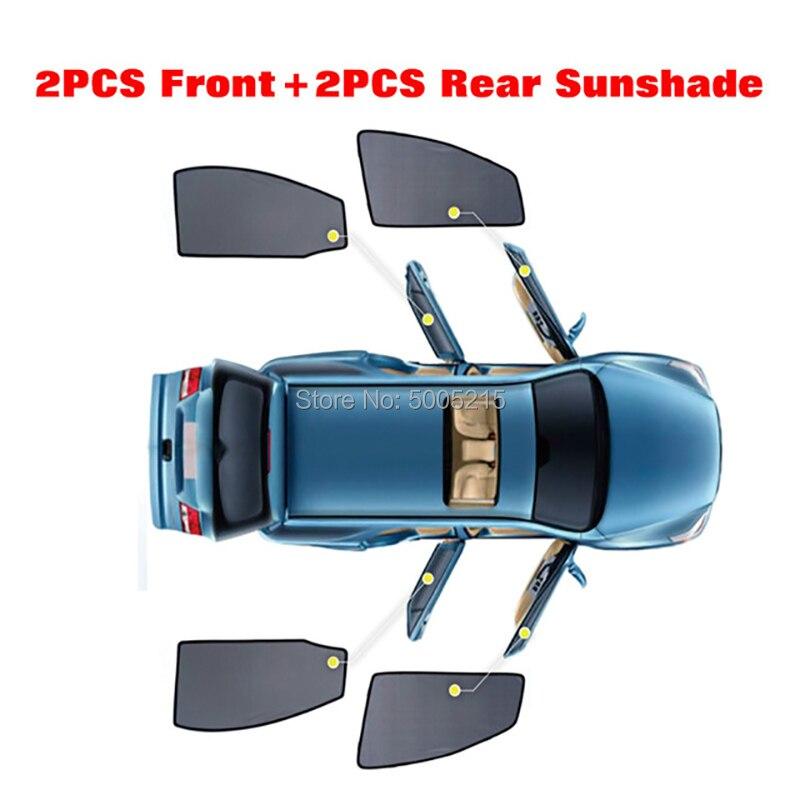 4 Pcs Magnetic Car Side Window Sunshade For Volkswagen Polo Bora Golf 6 Golf 7 Golf Sportsvan Gran Lavida Lavida For Jetta in Side Window Sunshades from Automobiles Motorcycles