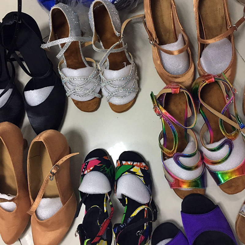 19.99USD Only Women latin dance shoes Sell all of the remaining stuck  cheaply Evkoodance Heel Color Style are in random 2def244a15b4