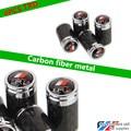 4pcs Carbon Fiber Auto Car TRD Emblem Badge Wheel Tyre Tire Valve Caps Stem Air Covers For Reiz RAV4 Camry Key ring