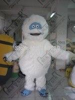 character high quality long fur yeti mascot costumes cartoon apes costumes