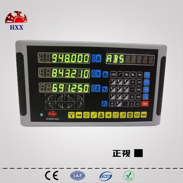 hxx new dro one piece 3 axis GCS900-3DA coordinate measuring instrument digital readout for mill/edm/lathe machine one piece machine xp3 16rt 12