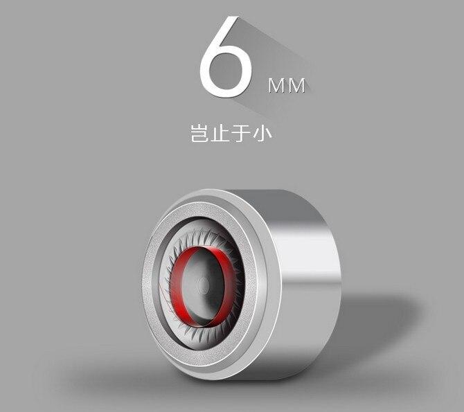 6mm hoparlör ünitesi kulak içi hoparlör Mikro Dinamik Hoparlör 2 - Taşınabilir Ses ve Görüntü