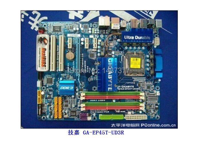 Gigabyte GA-EP45C-UD3R SATA2 Drivers for Windows 7