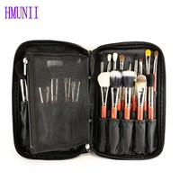 New Makeup Brush Storage Organizer Travel Clutch Handbag Cosmetic Sort Out Case Beauty Tools Bag Women
