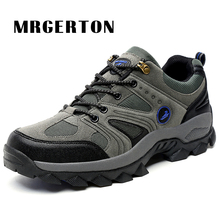 Men hiking shoes Breathable Waterproof Outdoor Sneakers Climbing Sport Walking Trekking Shoes M33110